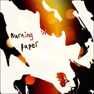 Burning Paper by Angela Edge Album Cover